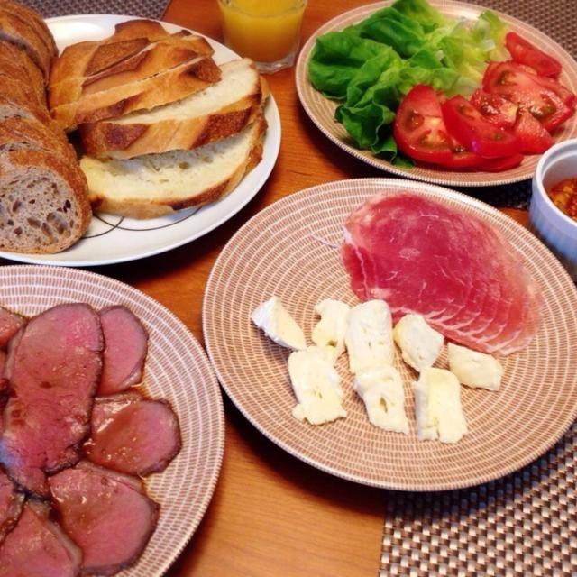 メゾンカイザーのパンを買ってきたので、好きな具を選んでセルフサンドイッチのランチ♪ - 9件のもぐもぐ - 7/6  セルフサンドイッチ♪ by ikuko