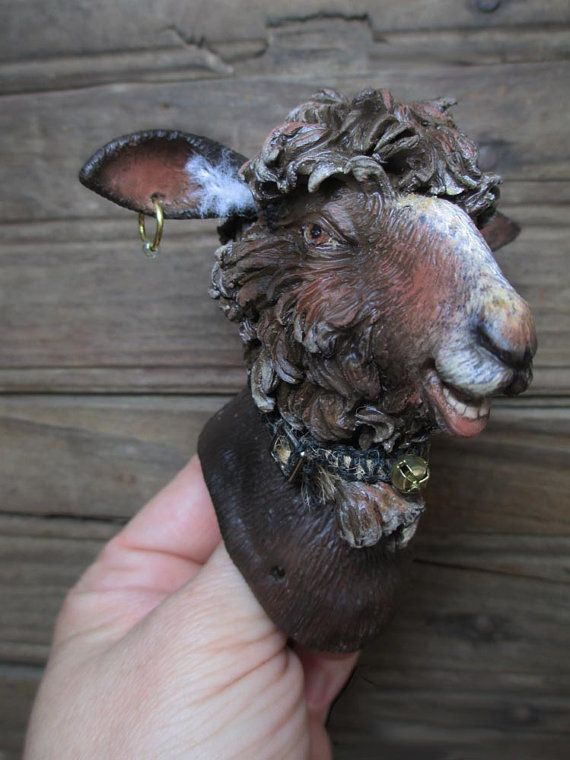 Custom BaaBaa Black Sheep Anthro Art Doll Parts by doters on Etsy, $225.00