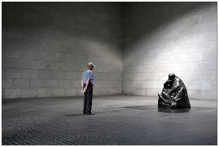 Neue Wache, Berlin...central monument to the victims of wars
