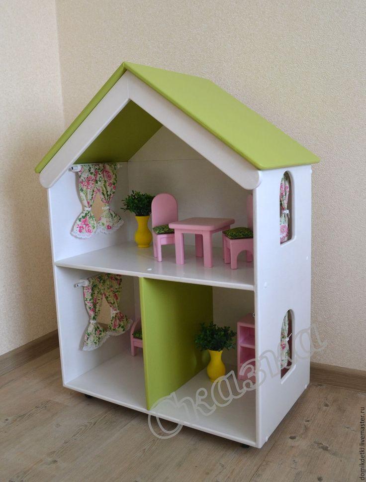 Купить Кукольный домик - кукольный дом, кукольный домик, домик для кукол, дом для куклы, барби