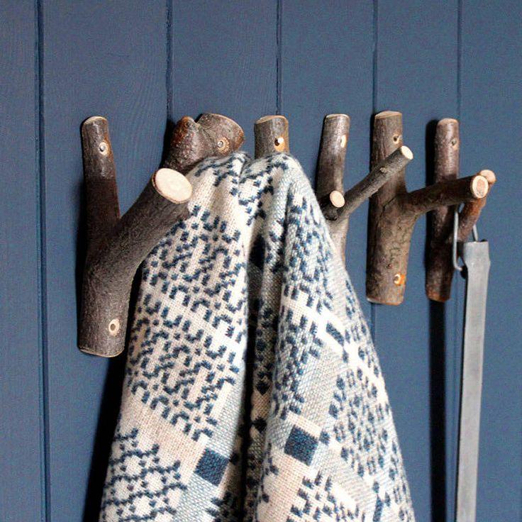 Wooden Trook Hook by Rowen & Wren