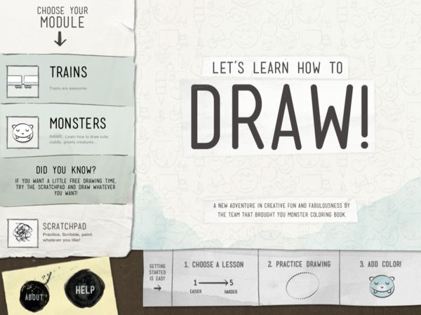 Let's Learn How To Draw! by Christopher Taylor, via Behance
