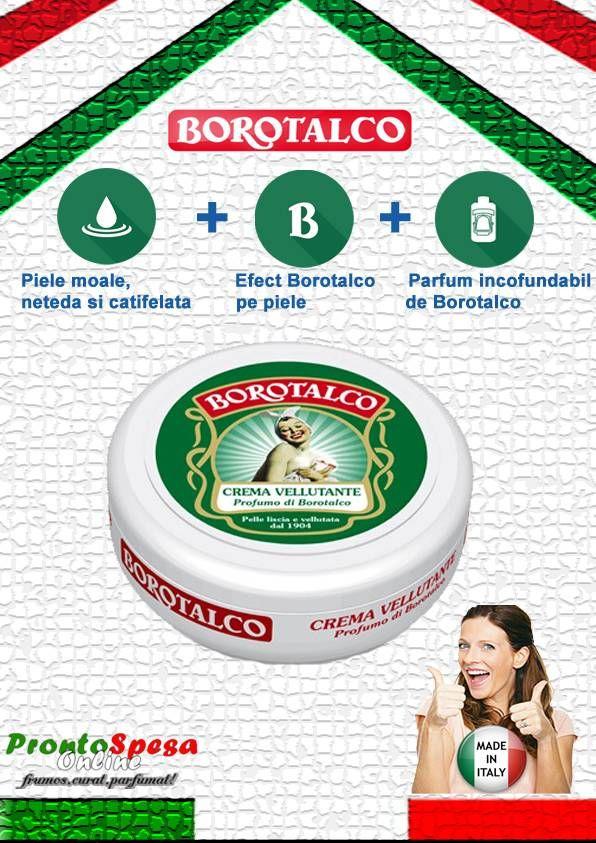 crema corp Borotalco cu parfum de Borotalco ml. 150 http://www.prontospesaonline.ro/