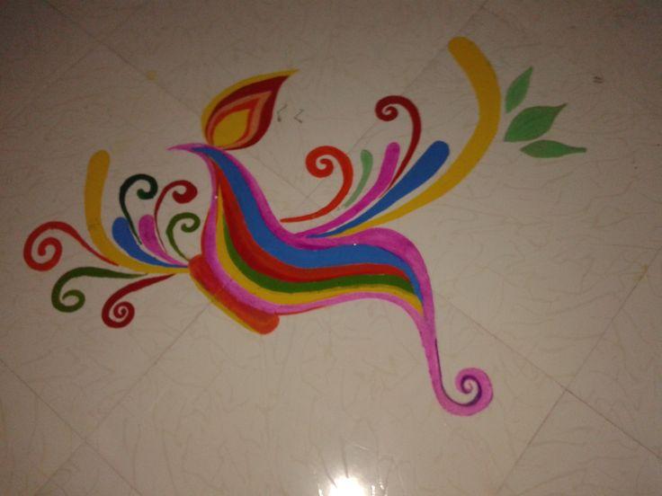 Diya By oil paint!