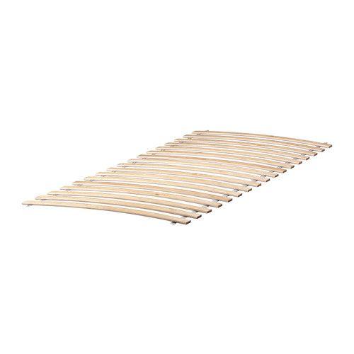 IKEA - SULTAN LURÖY, Federholzrahmen, 17 Federhölzer aus schichtverleimter Birke passen sich dem Körpergewicht an und verstärken die Flexibilität der Matratze.Inklusive 25 Jahre Garantie. Mehr darüber in der Garantiebroschüre.