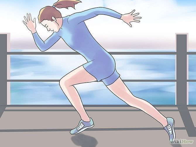 running a 6 minute mile