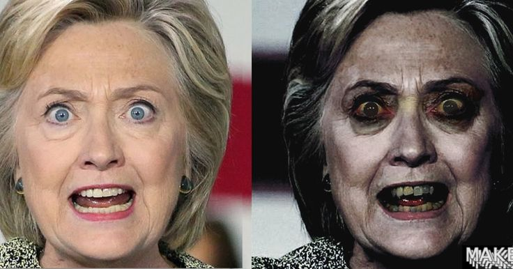 OMG... Hillary Without Makeup   OMG... Hillary Without Makeup /We Found A Witch/ Crooked Hillary Clinton's web of corruption