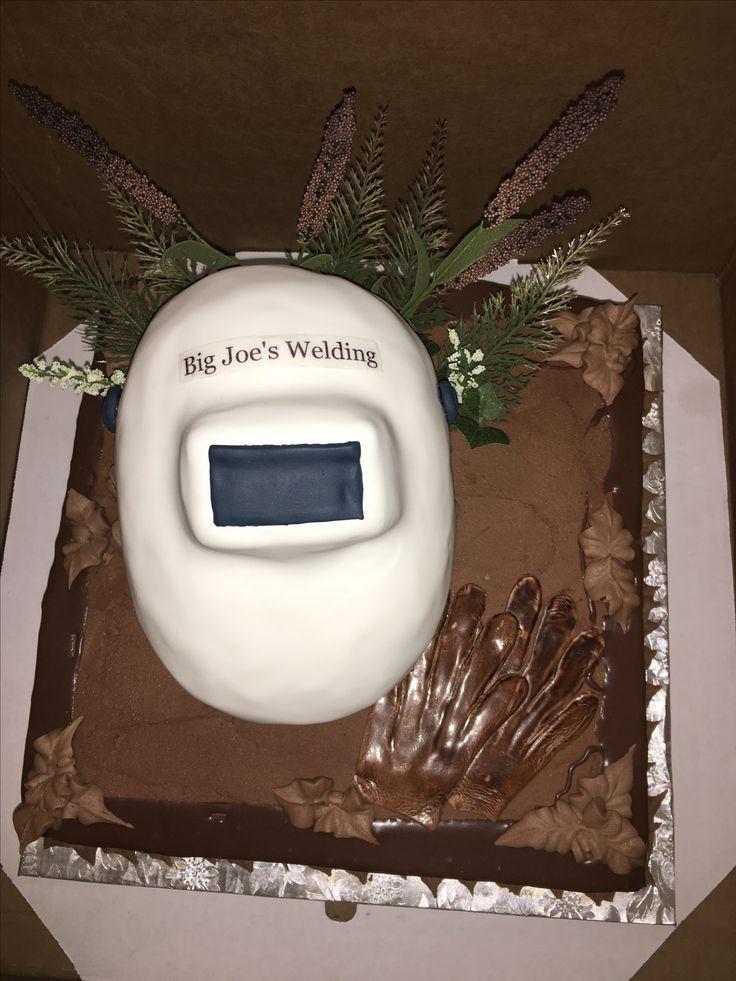 Pipeline Welder Grooms Cake