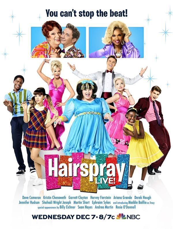 Photo Flash: NBC Reveals Final Poster Art for HAIRSPRAY LIVE!