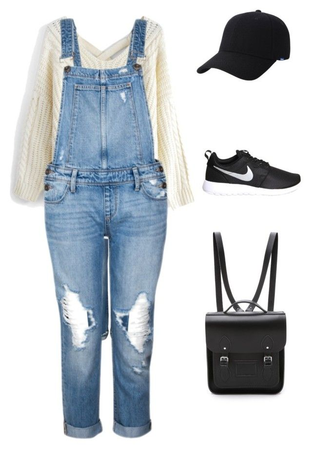 """""""Sporty with a hint of vintage"""" by sorayajanae on Polyvore featuring Levi's, Chicwish, Paige Denim, NIKE, Keds, The Cambridge Satchel Company and vintage"""