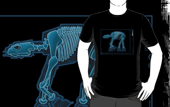 T-shirt AT-AT Anatomy by rubyred