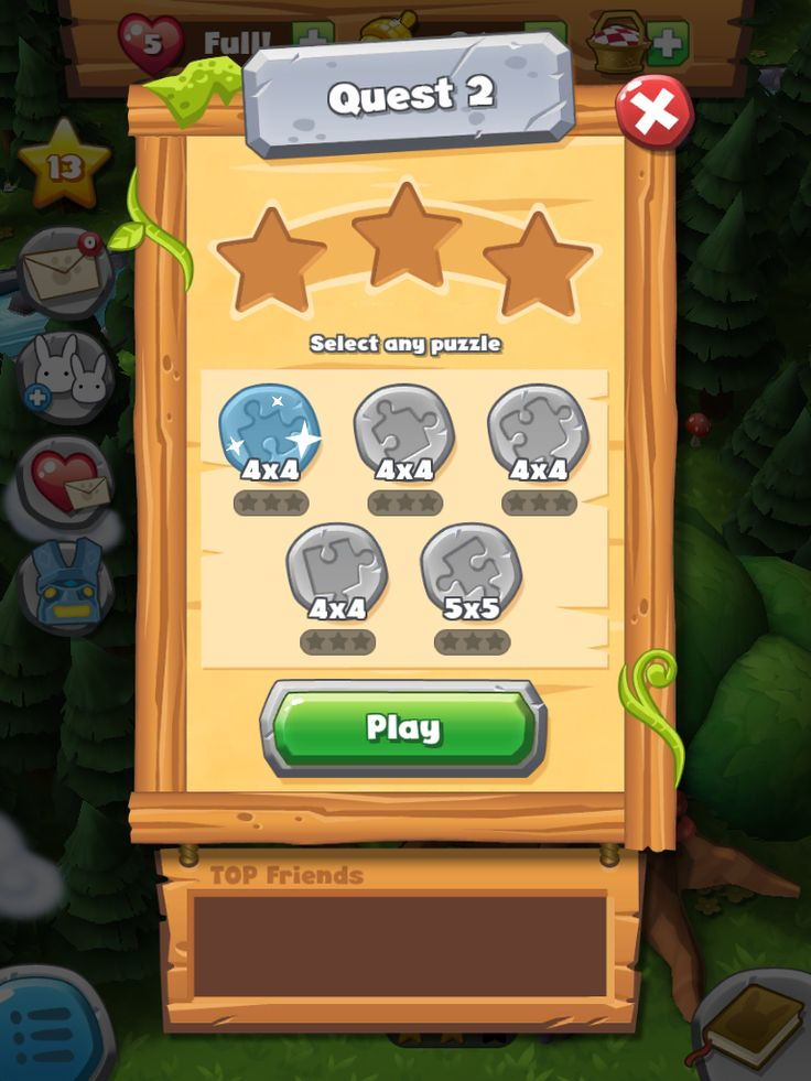 37 best Game UI | Forest Home images on Pinterest | Maze game ...
