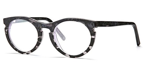 Riverbank - Shiny Black Marble - Optical Frame