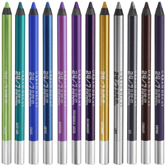 24/7 in color. All time fave eyeliner. waterproof and so soft. it's just great. mine is black and white.