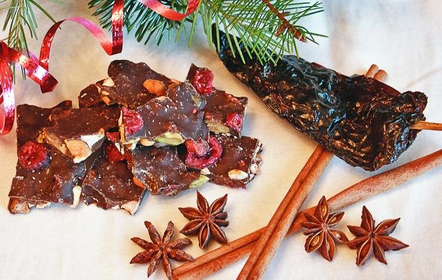 Ancho Chili-Cinnamon Chocolate Bark | Food & Drink | Pinterest