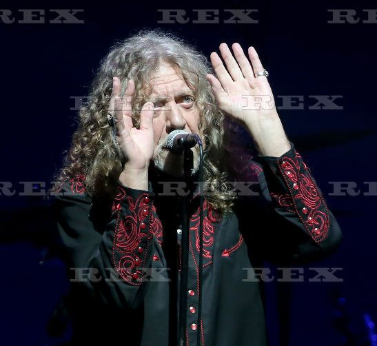 Robert Plant and the Sensational Space Shifters performing, Indianapolis, USA - 22 Sep 2015