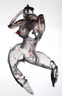 "Saatchi Art Artist Dong Li-Blackwell; Painting, ""Lady X No.80"" #art"