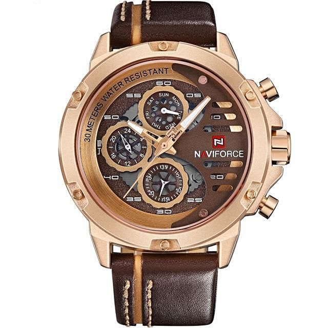 This Men Leather Sport... wont last long.  Take a look http://11fh11.com/products/men-leather-sport-waterproof-watch-5-styles?utm_campaign=social_autopilot&utm_source=pin&utm_medium=pin check website for more products!! #bracelet #11fh11 #watch #tees