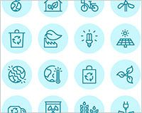 Free download: Vector Ecology icons | Webdesigner Depot
