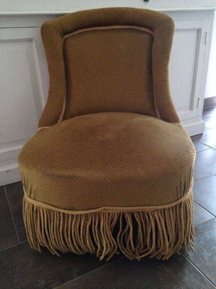 25 beste idee n over fauteuil crapaud ancien op pinterest for Style chaises anciennes