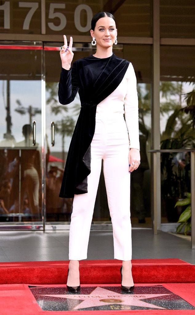 Katy Perry from The Big Picture: Today's Hot Pics  The award-winning singer is honoredby the Hollywood Chamber of Commerce with a 'Star Of Recognition' at Capitol Records Tower in Los Angeles.