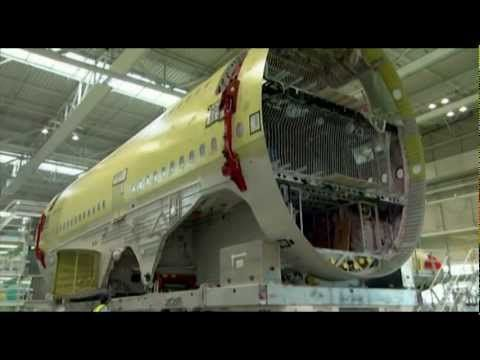 Strong material - carbon fiber composite materials in aircraft - YouTube