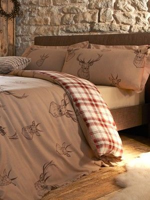 I love this so much! Stag Duvet Cover Set, http://www.littlewoods.com/stag-duvet-cover-set/1294067054.prd
