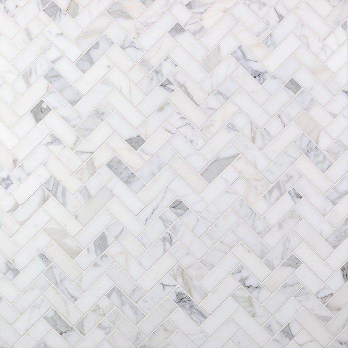 1 X 3 Marble Herringbone Mosaic Wall Floor Tile Marble Mosaic Marble Mosaic Tiles Marble Bathroom