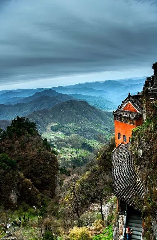 Wudang Temple - Wudang Mountains, China