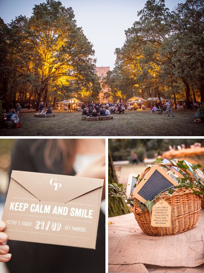 A country chic wedding in Italy (green-think.it wedding planner)
