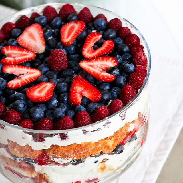 Mixed Berry Trifle by foodiebride, via Flickr