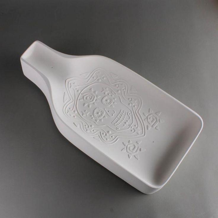 Glass Molds CPI GM213 Sugar Skull BottleSlump