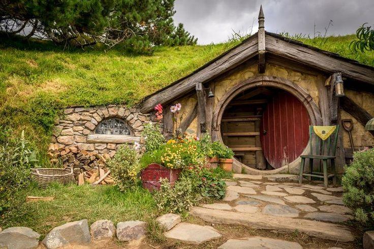 Yeni #Zelanda #Hobbit Evleri http://www.resimbulmaca.com/doga-resimleri-/resimleri/yeni-zelanda-hobbit-evleri.html
