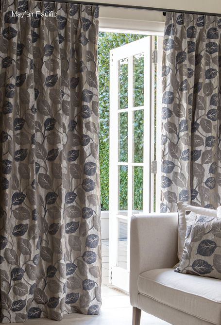For an elegant, sophisticated look, Mayfair ,with its stunning leaf design and pearlised sheen ticks all the boxes.