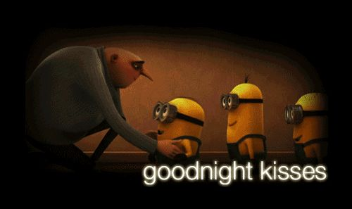 Despicable Me (2010)  Quote (goodnight kisses)