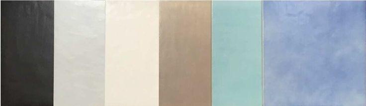 #ArmoniaDiColore. Colori leggiadri che incontrano la resistenza del gres lavico in formato 50x50 #ceramics #ItalianStyle #AnticheFornaciDAgostino  https://www.facebook.com/Vietri-Ceramic-Group-1132337140128573/timeline/