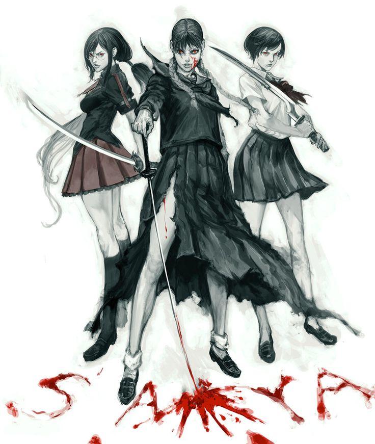 BLOOD saya by masateru.deviantart.com on @deviantART