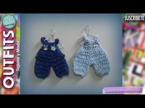 Souvenir a crochet para baby shower enterito, body bebé, paso a paso - YouTube