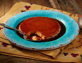 I'm checking out a great recipe for Flan from Taste of Spain at City Market!