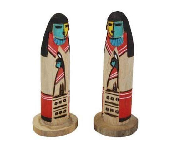 "Navajo Longhair Kachina doll 5.5"" - Native American Indian Dolls For Sale $18.75 @ Foutztrade.com #NativeAmericanArts  Authentic Native american Design Doll  #NavajoCulture #NativeAmerican #KachinaDolls #Handmade #IndianArts #VintageArts #Authentic #NativeAmericanDesign #SouthwesternArts #Navajomade #Arts #Crafts"
