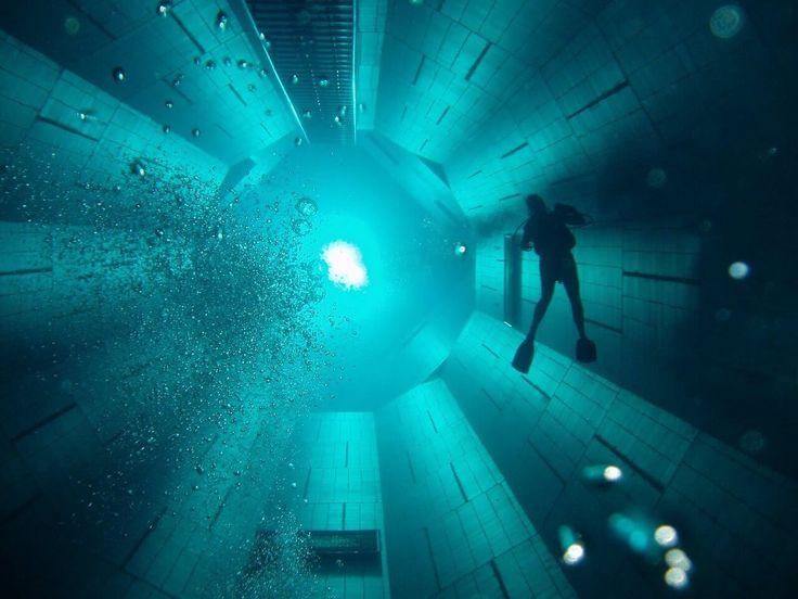 Conheça a 2ª piscina mais funda do mundo