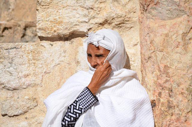 Religious Tourism: Святая Земля. Паломники из Эфиопии.