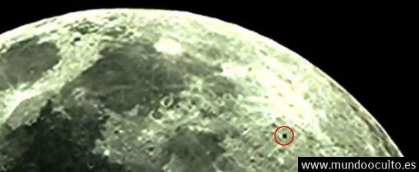 Astrónomo avista una extraña esfera negra sobre la Luna