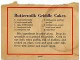 Image detail for -Quickbread - Buttermilk Griddle Cakes BX0026   Flickr - Photo Sharing!