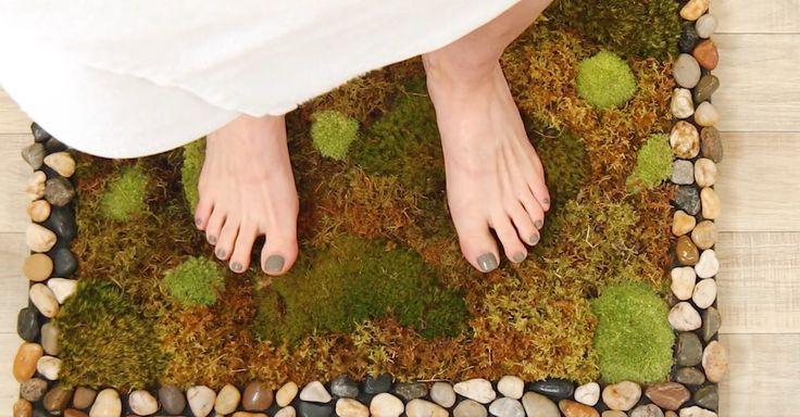 Best 25 moss bath mats ideas on pinterest bath mat for Natural moss bath mat