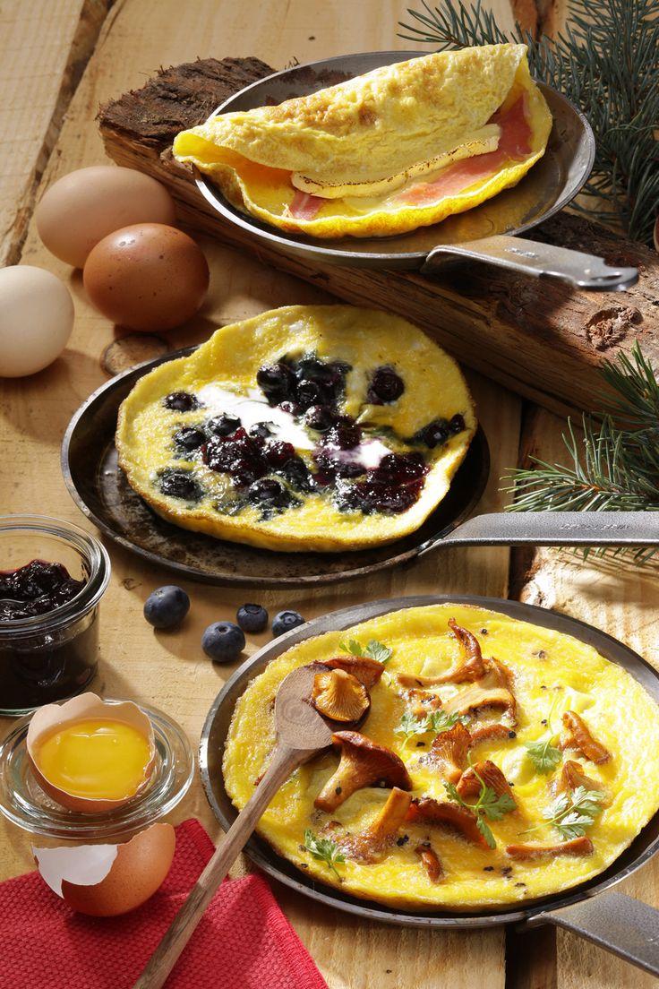 Après les fêtes, grâce à nos amis les #oeufs, on s'prend pas la tête : nos 3 #recettes d'#omelettes gourmandes !