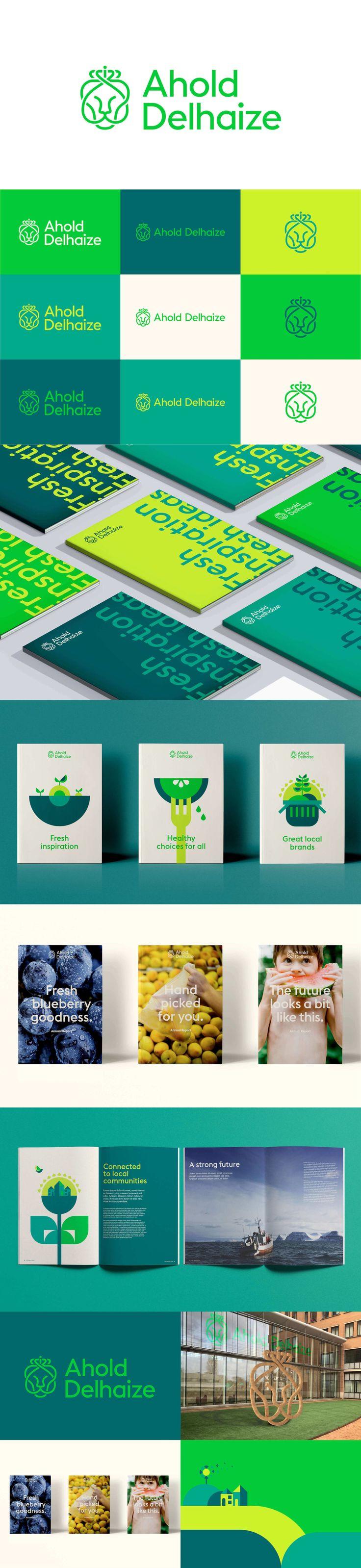 Ahold Delhaize branding