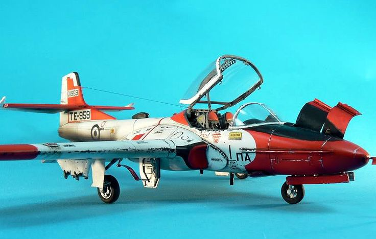 Cessna A 37 Dragonfly 1 48 Revell Converted T 37c By