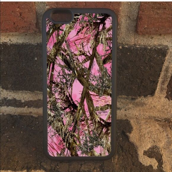 Pink Camo phone case/iPod touch ‼️‼please specify which case you need this for & which one you want to order I have all in stock ‼️‼️ one-piece ultra thin case fits easily onto your phone providing protection to back and sides. • I have iPhone 6S or 6 6PlusS or 6 plus & 5, 5c, or Samsung 2,3,4 or 5 or 6 or 6 edge & note 4 & 5 or iPod touch 5 & 6 • Ultra thin, adds no bulk to your phone ❤️❤️let me know what name or initials you want on the case as each can be personalized to fit your…