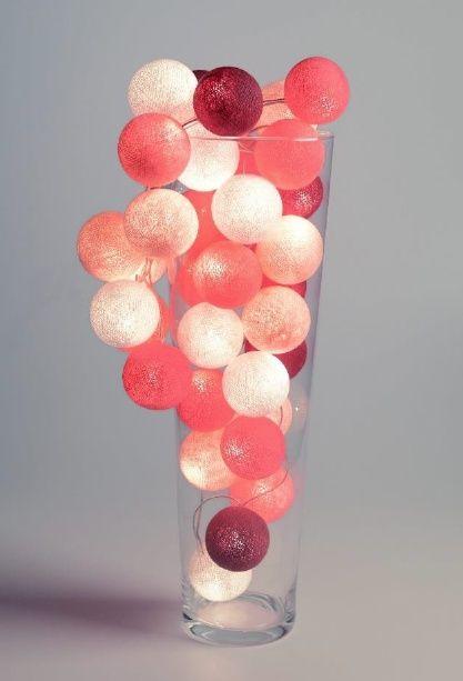 Cotton ball light Pink
